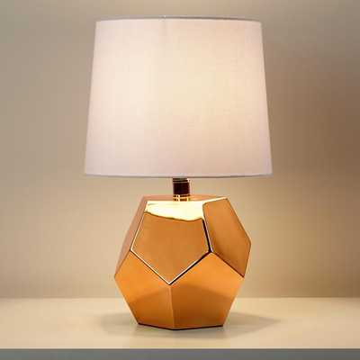 Gold Rock Table Lamp Base - Land of Nod