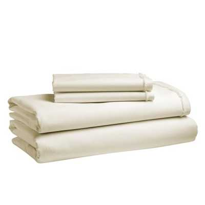 Organic Cotton Pillowcases-Set of 2 - Queen- Natural - West Elm