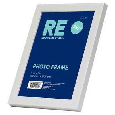Single Image Frame 5X7 White - Target
