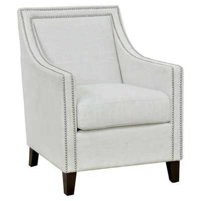Debra Arm Chair - Ivory - Wayfair