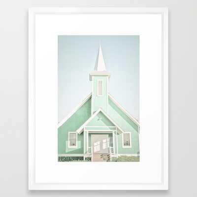 Mint 20x26 framed - Society6