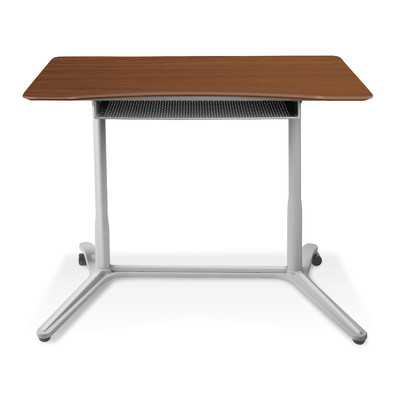 Height Adjustable Standing Desk - Walnut - Wayfair