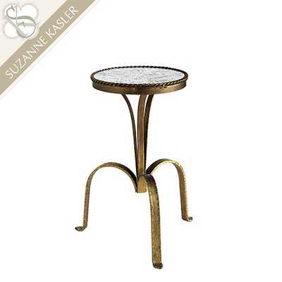 Suzanne Kasler Metal Accent Table - Small - Ballard Designs