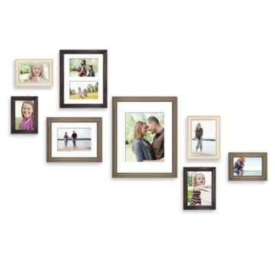 Wall Solution 8-Piece Gallery Frame Set - Bed Bath & Beyond