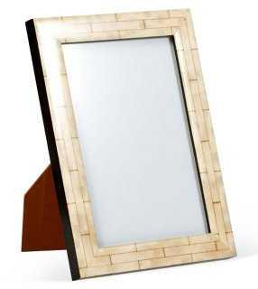 Mantel Frame, 5x7, Light Cream - One Kings Lane