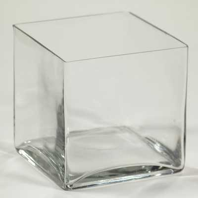 Square Glass Vase - AllModern