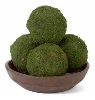 S/4 Moss Balls, Dried - One Kings Lane