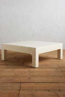 Mosaic Bone Coffee Table - Anthropologie