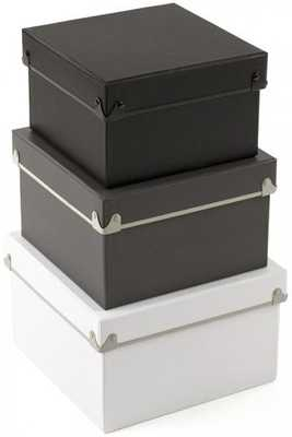HADLEY NESTED BOXES - SET OF 3 - Home Decorators