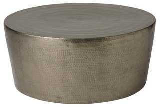 """Surrey 35"""" Cocktail Table, Silver - One Kings Lane"""