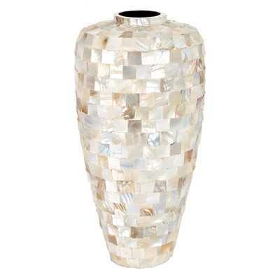 Mother of Pearl Vase - Wayfair