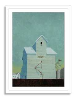 Adal Ortiz, Dewey Grain Elevator - One Kings Lane