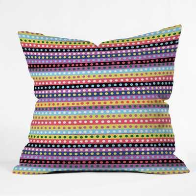 "Khristian A Howell Valencia 04 Throw Pillow-20""-polyester fill - Wayfair"