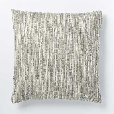 "Luxe Textured Pillow Cover - 24""sq. - Insert sold separately - West Elm"