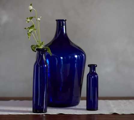 Cobalt Vases - Rolled Lip, Medium Vase - Pottery Barn