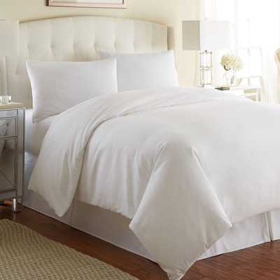 3 Piece Duvet Cover Set - Bright White - Full/Queen - Wayfair