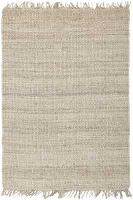 """SURYA · JUTE (BLEACHED) · NATURAL BLEACHED · BLEACHED-5""""x7'6"""" - Rugs Direct"""