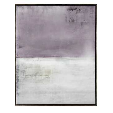 Washed Edge- 41.5''W x 51.5''H  - Framed (Champagne) - Z Gallerie