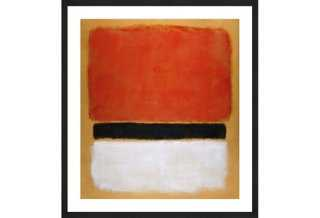 "Rothko, Untitled, 1955- 36.5"" x 33""- Black frame with mat - One Kings Lane"