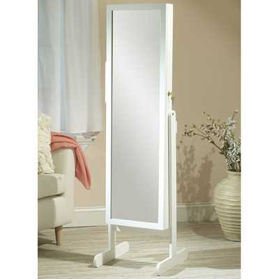 Free Standing Jewelry Armoire with Mirror - Wayfair