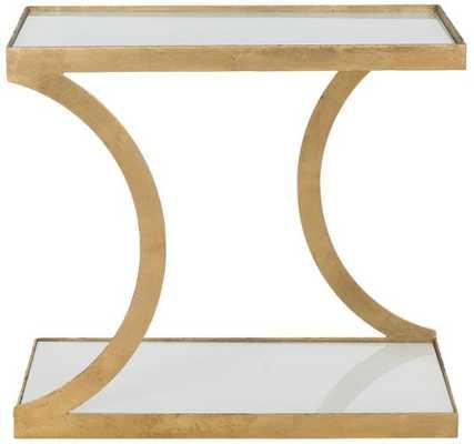 ZORA ACCENT TABLE - Gold - Home Decorators