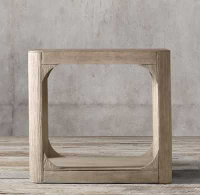 MARTENS SQUARE SIDE TABLE - RH
