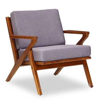Martelle Leisure Arm Chair - Gray - AllModern