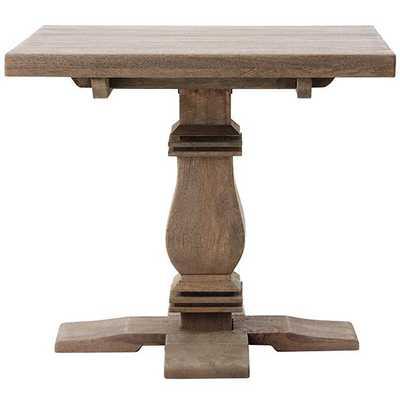 ALDRIDGE ACCENT TABLE - Antique Grey - Home Decorators