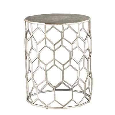 Carlson Metal End Table - Wayfair