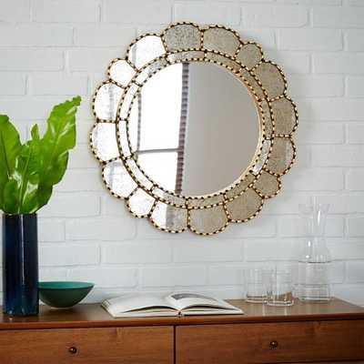 Peruvian Artisan Mirror - Large Round - West Elm
