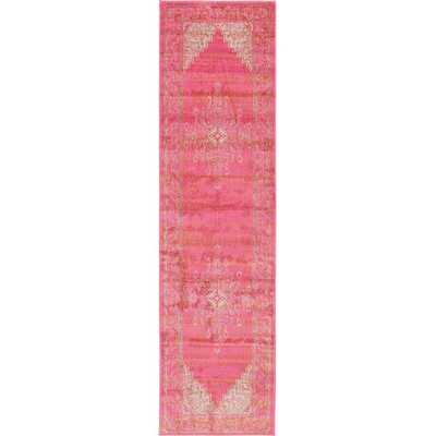 """Stockholm Pink Area Rug -2'7 """"x 10' - AllModern"""