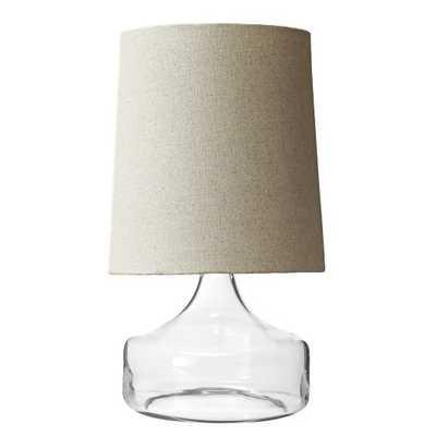 Perch Glass Lamp - West Elm