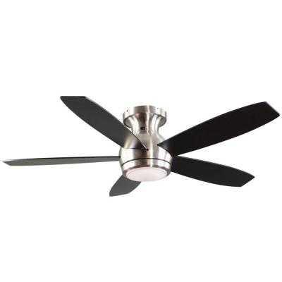Treviso 52 in. Brushed Nickel Indoor LED Ceiling Fan - Home Depot