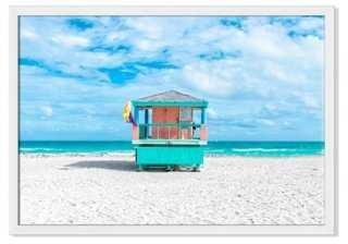 "Richard Silver, Lifeguard Chair II - 24""L x 17""W - Framed - One Kings Lane"