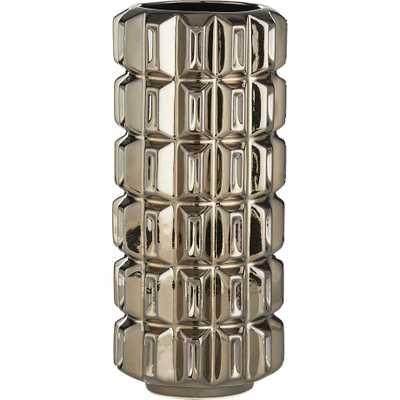 Isadore large gold vase - CB2
