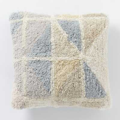 """Roar + Rabbit Irregular Geo Wool Pillow Cover-16""""sq.-no insert - West Elm"""