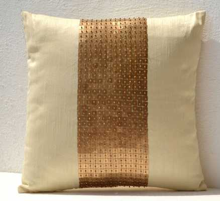 """Sequin Throw Pillow - 18"""" x 18"""" - Without insert - Etsy"""