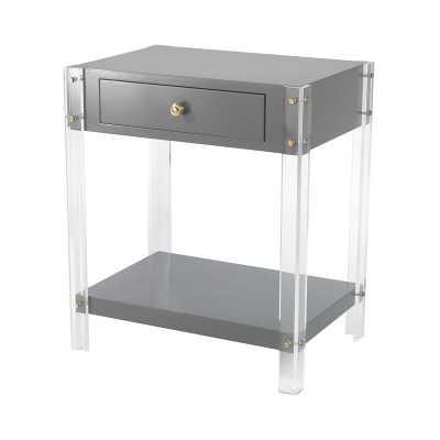 Gothenburg 1 Drawer Accent Table - Rosen Studio