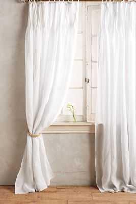 """Pinch-Pleat Curtains - 108"""" - Anthropologie"""