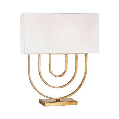 Munich 1 Light Table Lamp In Gold Leaf - Rosen Studio