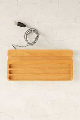 Wood Charging Station - Urban Outfitters