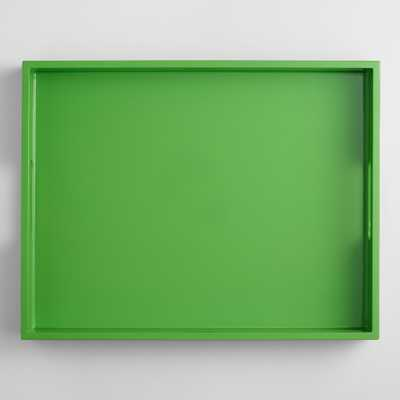 Rectangular Lacquer Serving Tray - World Market/Cost Plus