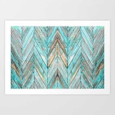 "Wood Texture 1 Canvas Print - 36"" x 24"" - Unframed - Society6"