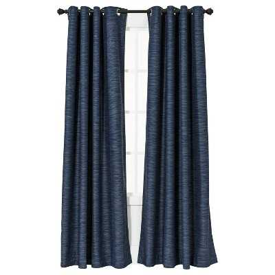 "Thresholdâ""¢ Uptown Stripe Light Blocking Curtain Panel - Target"