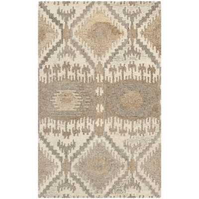 Wyndham Brown Area Rug - 5' x 8' - Wayfair