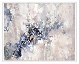 "Serene Waters- 20.5""L x 16.5""H- White Frame - One Kings Lane"
