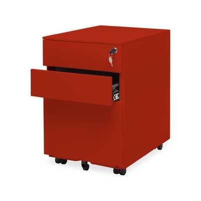 Office 3 Drawer Mobile File Cabinet - Wayfair