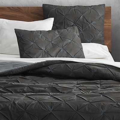 Prisma carbon bed linens - Queen - CB2