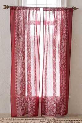 4040 Locust Bali ZigZag Curtain - Urban Outfitters
