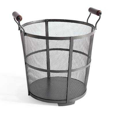 Steel Wood Basket - Large - Grandin Road